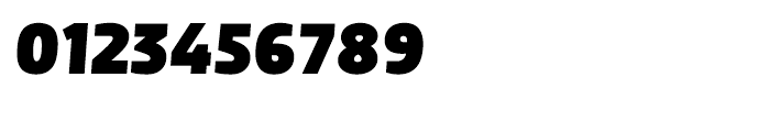 Dobra Black Italic Font OTHER CHARS