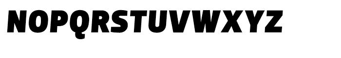 Dobra Black Italic Font UPPERCASE