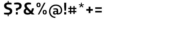Dobra Medium Font OTHER CHARS