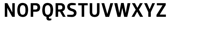Dobra Medium Font UPPERCASE