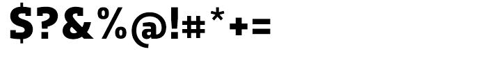 Dobra Slab Bold Font OTHER CHARS