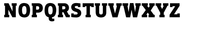 Dobra Slab Bold Font UPPERCASE