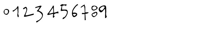 Docporn Regular Font OTHER CHARS