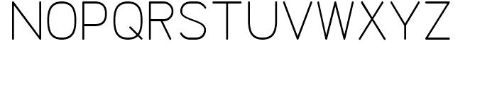 Doctarine Light Font UPPERCASE