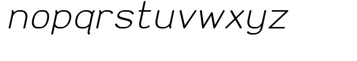 Doctarine Regular Slant Font LOWERCASE