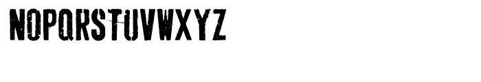 Dogjaw Pro Regular Font UPPERCASE