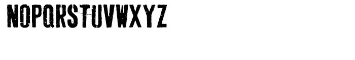 Dogjaw Regular Font UPPERCASE