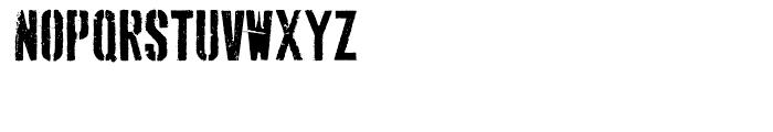 Dogjaw Regular Font LOWERCASE