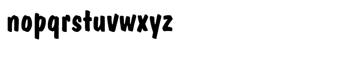 Dom BT Casual Font LOWERCASE