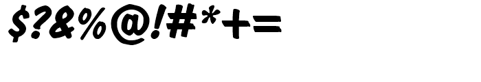 Dom BT Diagonal Bold Font OTHER CHARS