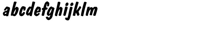 Dom BT Diagonal Bold Font LOWERCASE