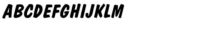 Dom Diagonal Bold Font UPPERCASE