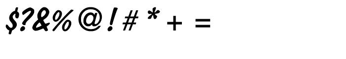 Dom Diagonal Regular Font OTHER CHARS
