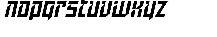 Dominion Italic Font LOWERCASE