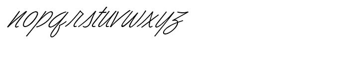 Dominique Light Font LOWERCASE