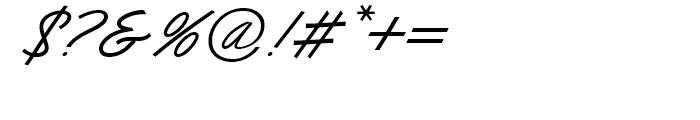 Dominique Medium Font OTHER CHARS