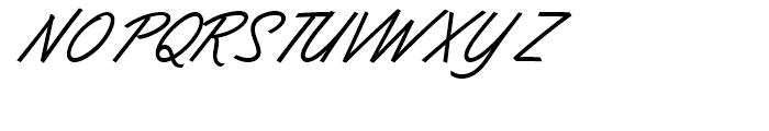 Dominique Medium Font UPPERCASE