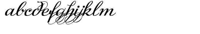 DonnaJulia Normal Font LOWERCASE