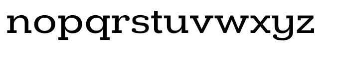 Donnerstag Medium Font LOWERCASE