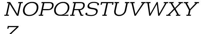 Donnerstag Regular Italic Font UPPERCASE