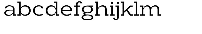 Donnerstag Regular Font LOWERCASE
