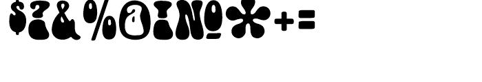 Doobie Regular Font OTHER CHARS