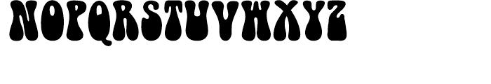 Doobie Regular Font UPPERCASE
