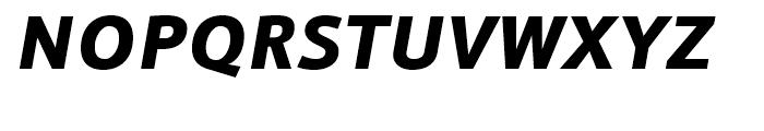 Doradani Black Italic Font UPPERCASE