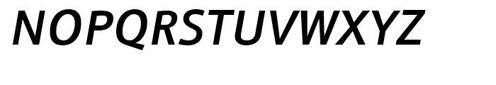 Doradani SemiBold Italic Font UPPERCASE