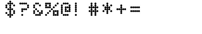 Dottie Regular Font OTHER CHARS