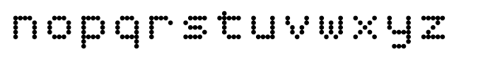 Dottie Regular Font LOWERCASE
