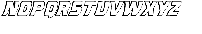 Double Back Intl Future Open Font LOWERCASE