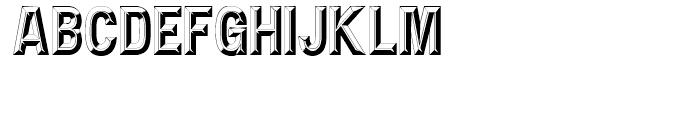 Double D NF Regular Font UPPERCASE