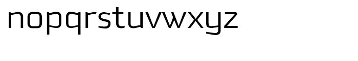 Downtempo Light Font LOWERCASE