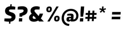 Dobra Bold Italic Font OTHER CHARS