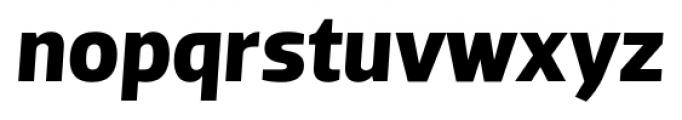 Dobra Bold Italic Font LOWERCASE