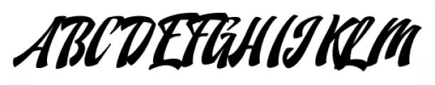 Doedel Alternate 3 Font UPPERCASE