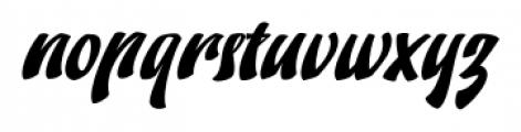 Doedel Alternate 3 Font LOWERCASE