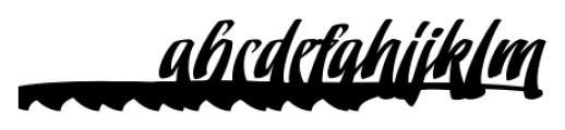 Doedel Alternate 4 Font LOWERCASE