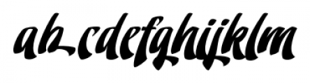 Doedel Alternate 5 Font LOWERCASE