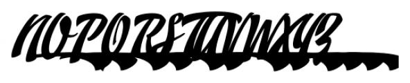Doedel Alternate 6 Font UPPERCASE