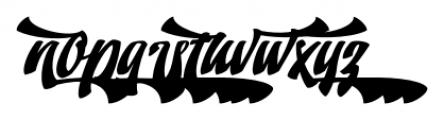 Doedel Alternate 6 Font LOWERCASE