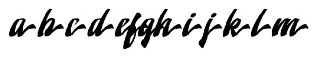 Doedel Alternate 7 Font LOWERCASE