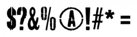 Dogjaw Pro Regular Font OTHER CHARS