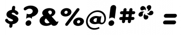 Dogma Script Bold Font OTHER CHARS