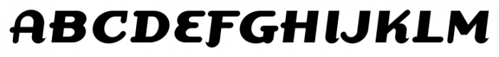 Dogma Script Bold Font UPPERCASE