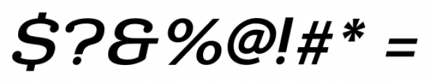 Donnerstag Bold Italic Font OTHER CHARS