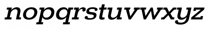Donnerstag Bold Italic Font LOWERCASE