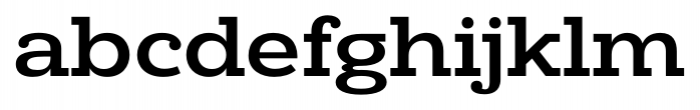 Donnerstag Bold Font LOWERCASE