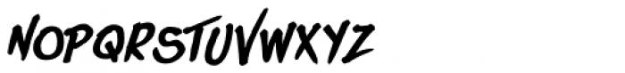 DOORLEY HAND BOLD Font UPPERCASE
